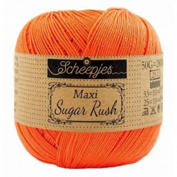 Scheepjes Maxi Sugar Rush - 189 Royal Orange