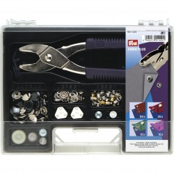 Prym non-sew assortment box, Vario-Plus