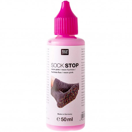 Rico Sock Stop - Neon Fuchsia
