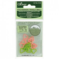 Clover Stitch markers triangle 3.75-5.00mm