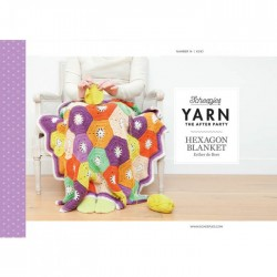 Yarn The After Party №14 Hexagon Blanket