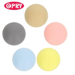 Opry Silicone beads round 10mm, 5pcs, AST1