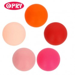 Opry Silicone beads round 10mm, 5pcs, AST2
