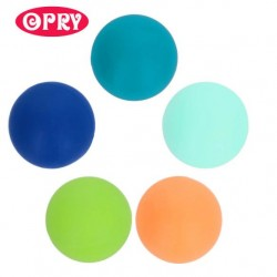 Opry Silicone beads round 10mm, 5pcs, AST3