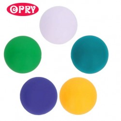 Opry Silicone beads round 10mm, 5pcs, AST4