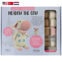 Tuva Amigurumi Crochet Kit - 002 Meadow the Cow