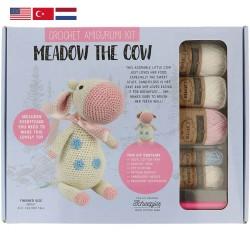 Набор для вязания амигуруми Tuva - 002 Meadow the Cow