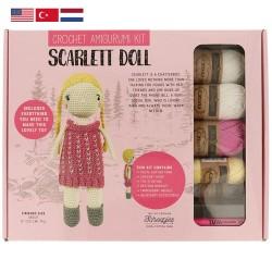 Tuva Amigurumi Crochet Kit - 005 Scarlett Doll