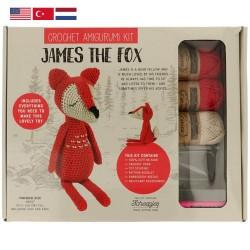 Набор для вязания амигуруми Tuva - 007 James the Fox