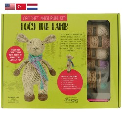 Tuva Amigurumi Crochet Kit - 009 Lucy the Lamb