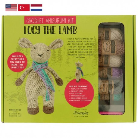 Amigurumi Dera-Dogs Crochet Kit and Pattern – Deramores US | 458x458