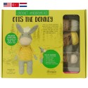 Tuva Amigurumi Crochet Kit - 012 Otis the Donkey
