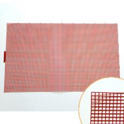 Hamanaka Bag Mesh, 45.5 x 75.5 cm, red