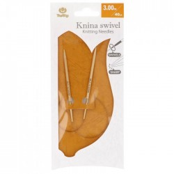 Tulip Knina Swivel Knitting Needles 40 cm