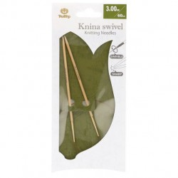 Tulip Knina Swivel Knitting Needles 60 cm