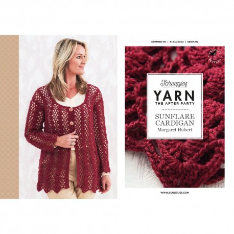Yarn The After Party №90 Sunflare Cardigan