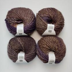 Rico Creative Melange Chunky - 027 Brown-Lilac