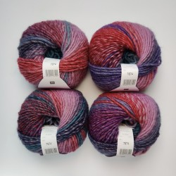 Rico Creative Melange Chunky - 041 Purple-Teal