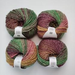 Rico Creative Melange Chunky - 050 Purple-Green