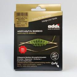 addiCraSyTrio Bamboo double-pointed needles