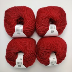 Rico Creative Melange Chunky - 002 Red