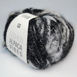 Rico Fashion Alpaca Vibes - 001 Black-White