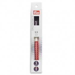 Prym Ergonomics Crochet Hook 3.5 mm red