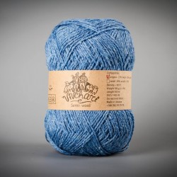 Semi-wool 302 blue