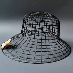 Hamanaka Mesh for Hat, black