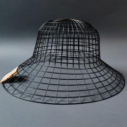 Hamanaka Mesh for Hat, 58 cm, black