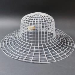 Hamanaka Mesh for Hat, white