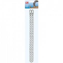 Prym metal bag chain Mia, 70 cm, silver