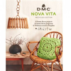 DMC Nova Vita pattern book 15 designs