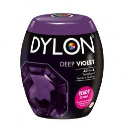 Dylon Pods textile fabric dye machine use - Deep Violet