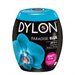 Dylon Pods textile fabric dye machine use - Paradise Blue
