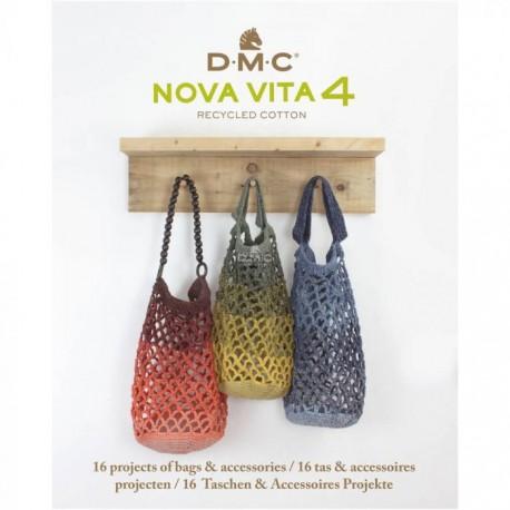 DMC Nova Vita 4 pattern book 16 designs