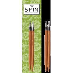 Спицы съемные ChiaoGoo SPIN Bamboo 10 см