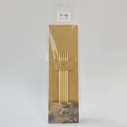 Seeknit Shirotake Bamboo Double Pointed Needles 15 cm