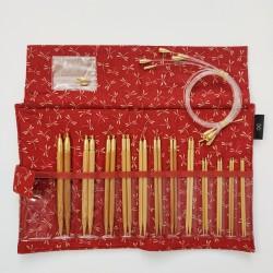 Seeknit Koshitsu IC Needles Set STD Red