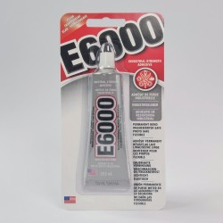 E6000 Industrial strength adhesive clear 29.5ml