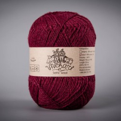 Semi-wool 404 vinous