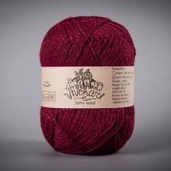 Semi-wool 404 vinous