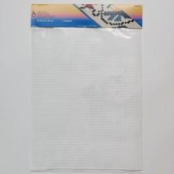 Pony plastic canvas 32.5 × 25 cm, white