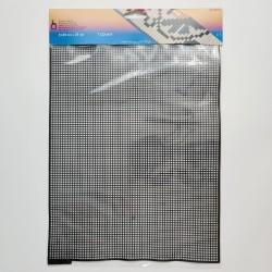 Pony plastic canvas 32.5 × 25 cm, black