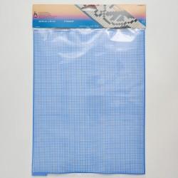 Pony plastic canvas 32.5 × 25 cm, blue