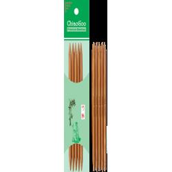 Спицы носочные бамбуковые ChiaoGoo 15 см, патина