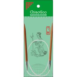 "ChiaoGoo Bamboo Circulars - 24"" (60 cm), Patina"