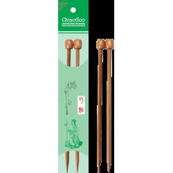Спицы прямые бамбуковые ChiaoGoo 23 см, патина
