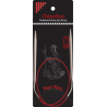 Спицы круговые ChiaoGoo SS Knit RED (80 см)