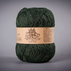 Semi-wool 407 dark green